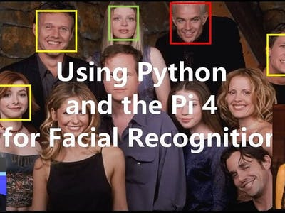 Easy Face Recognition with Raspberry Pi 4 and Python