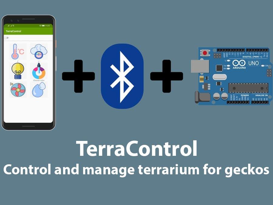 TerraControl - control and manage terrarium for geckos