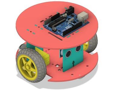 Arduino Line Follower Robot 2WD Arduino
