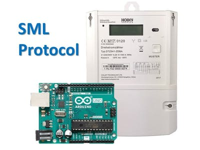 How to read out an electricity meter via Arduino