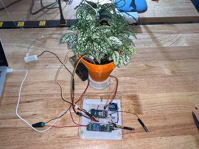 Smart Plant Watering System