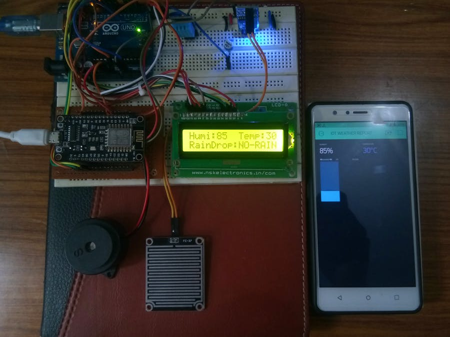 IOT Based Weather Reporting System to Find Dynamic Climatic