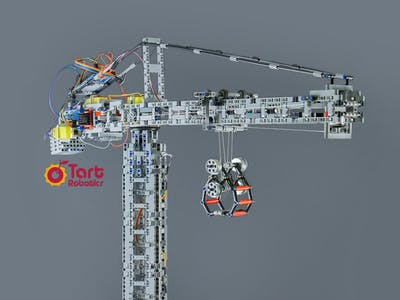A Fully Functional Tower Crane Desktop Replica