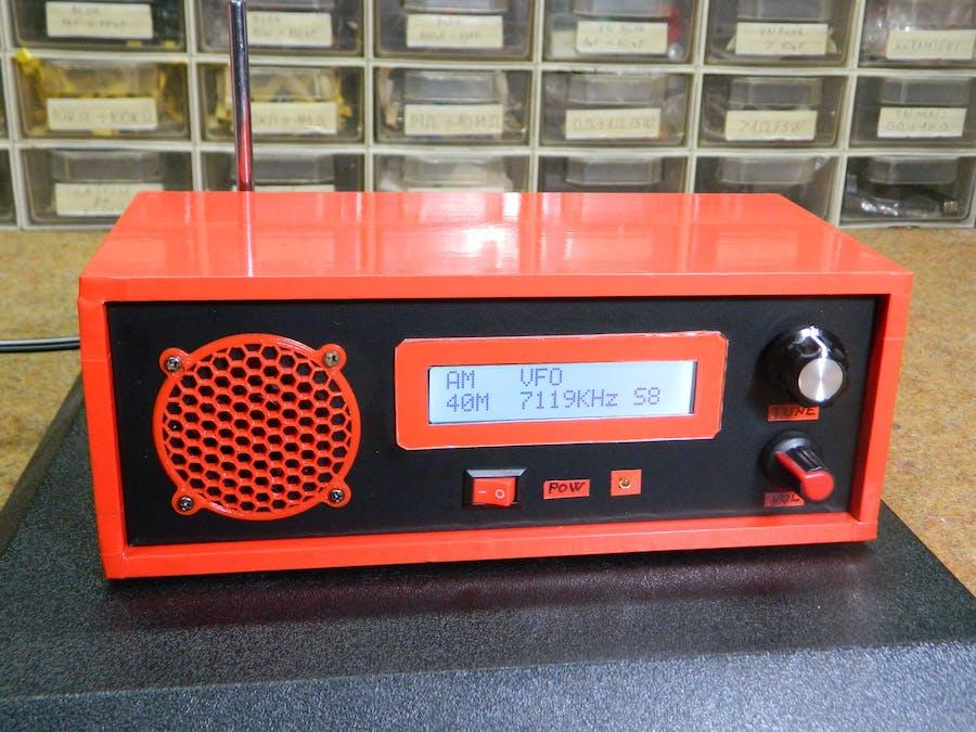 Homemade Arduino , Si4730 All Band Receiver (LW, MW, SW, FM)