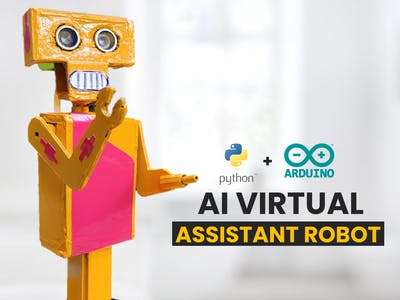 AI Assistant Robot with Arduino and Python