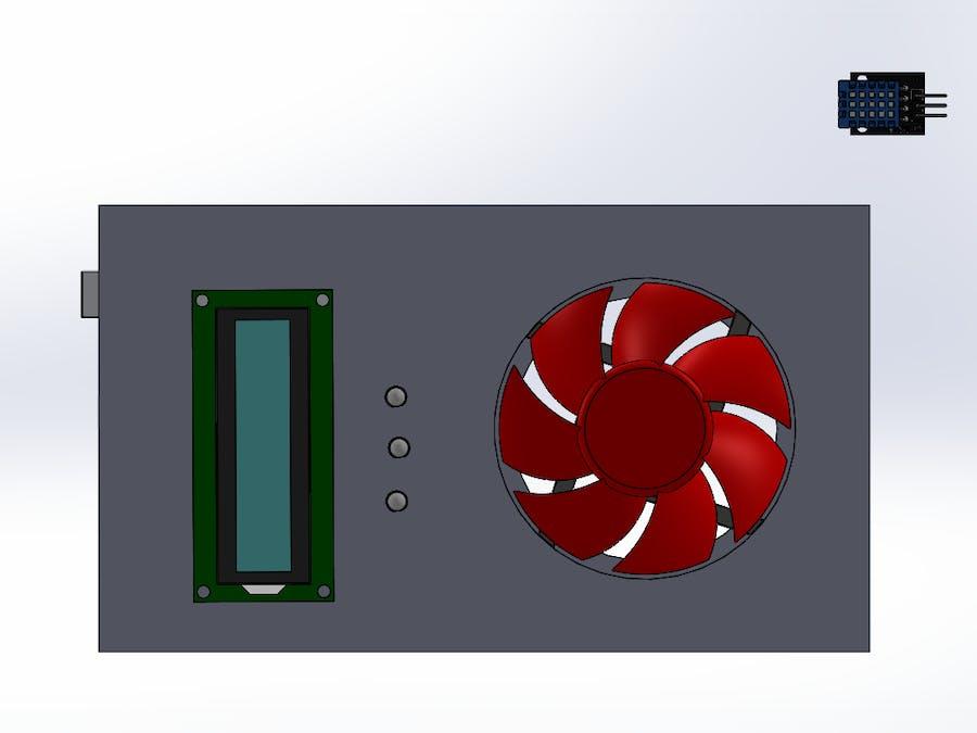 Realtime temperature monitor