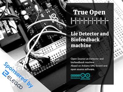 Lie Detector and Biofeedback Arduino Based