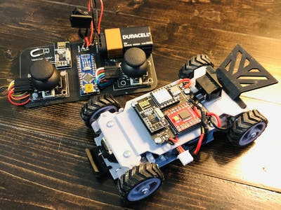 RC Car (Arduino-based 3d resin printed)