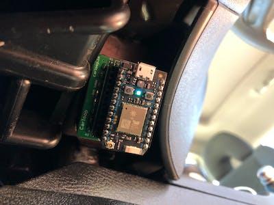 Virtual Race Using Carloop and Photon