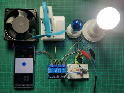 How to make Arduino based Home Appliance Control