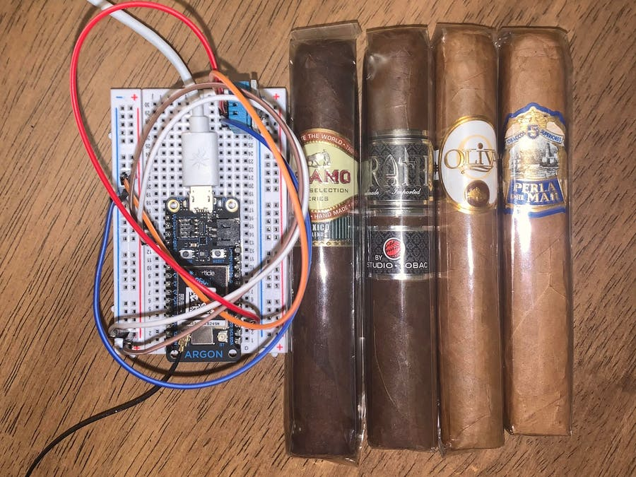 MEGR3171 Cigar Humidor Temp/Humidity Monitor
