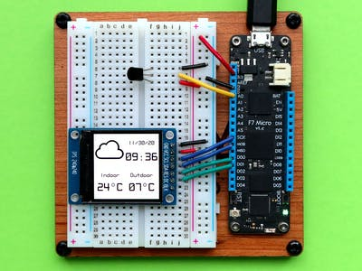 Weather Station Using Public Web Service Using Meadow