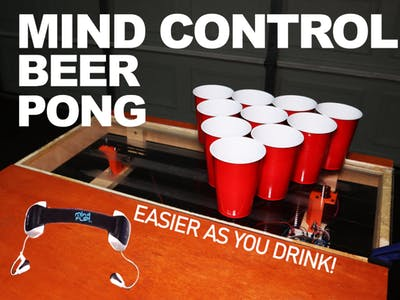 Mind Control Beer Pong!