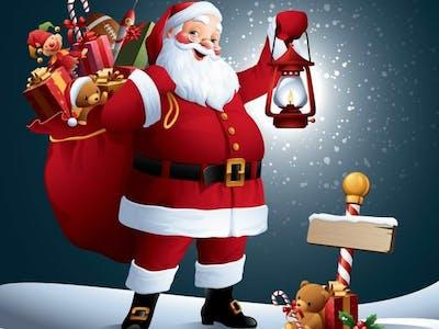 Santa Has Come!