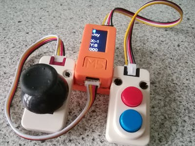 Wireless Gamepad with ESP32 and BLE