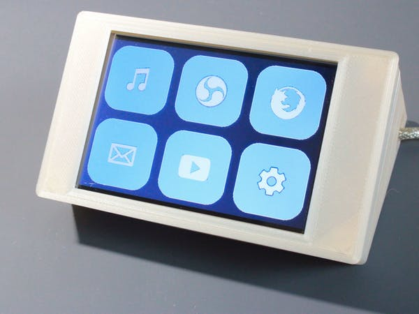 FreeTouchDeck (an Bluetooth ESP32 TFT + Touch Macro Keypad)