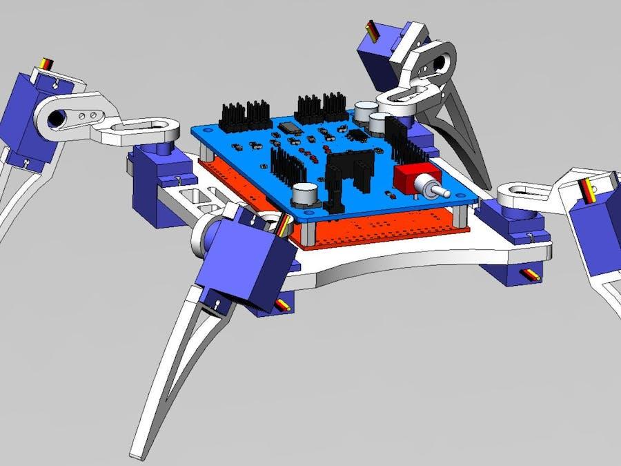 Joystick controlled Quade