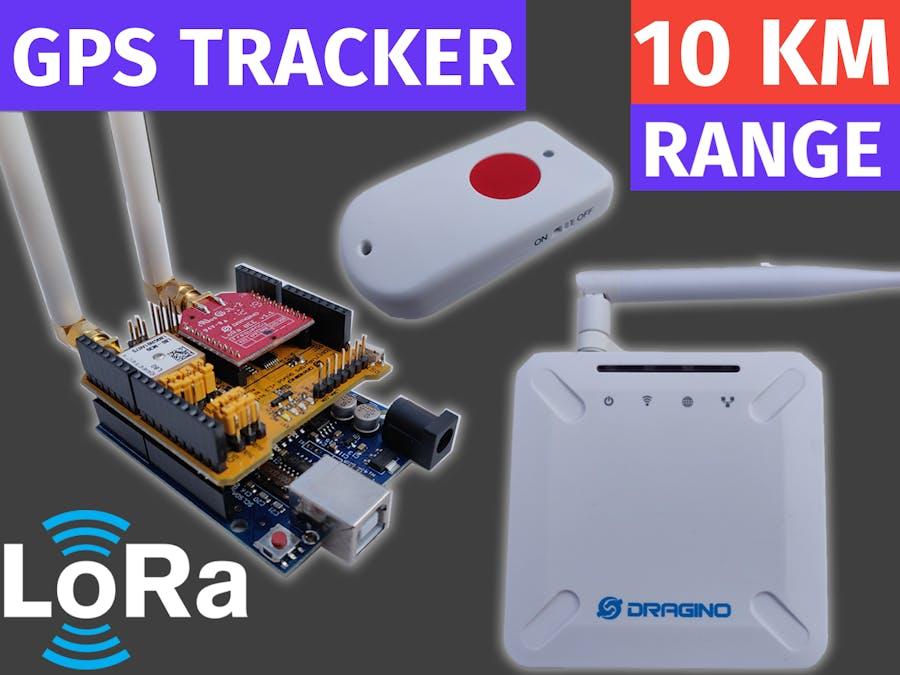 LoRa GPS Tracker Tutorial | LoRaWAN with Dragino and TTN