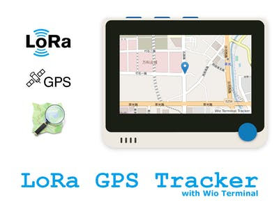 LoRa GPS Tracker with Wio Terminal