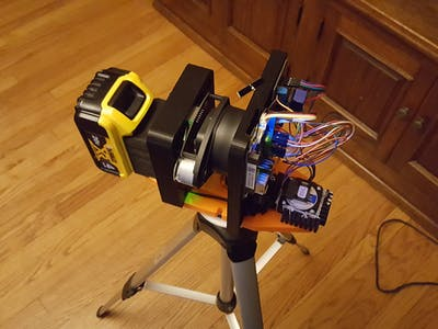 RPLidar based 3D Area Scanner