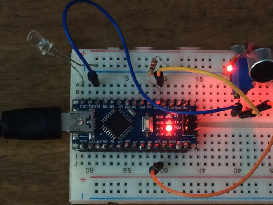 Clap Switch with the help of Arduino