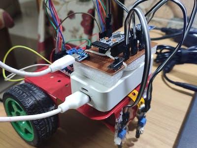 Maze Solving Robot (3 IR Sensors)