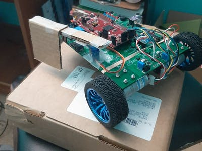 XY Location of the Robot Car (UIUC ME 461)