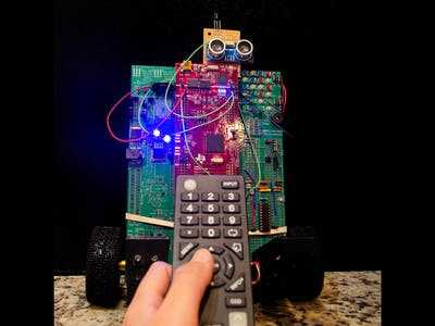 Control Segbot with TV Remote