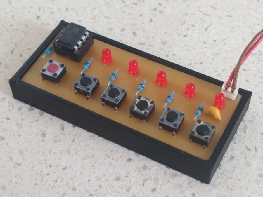 Five LEDs Puzzle