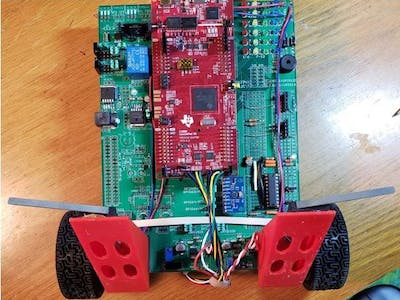 UIUC ME 461 Two-Wheeled Segbot with Microswitch Sensors