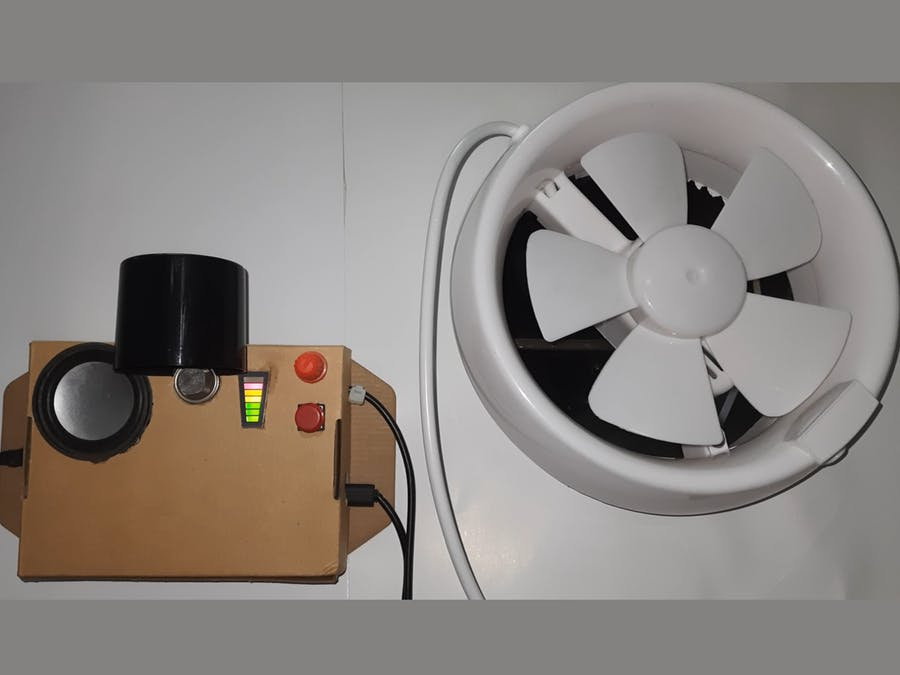 Gas Leakage Monitor & Ventilation System for Confined Space