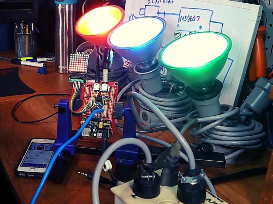 DIY Automatic Musical Christmas Lights (MSGEQ7 + Arduino)