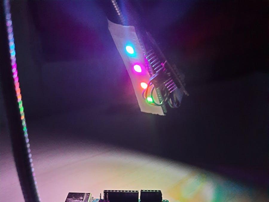 NeoPixel Desk Light