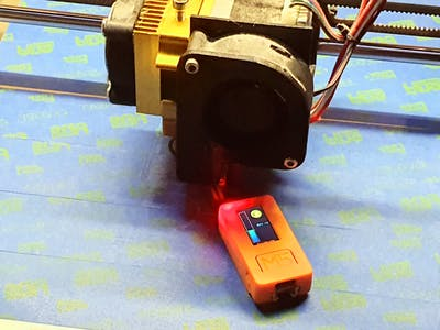 3D Print Bed Leveling Tool Using M5StickC