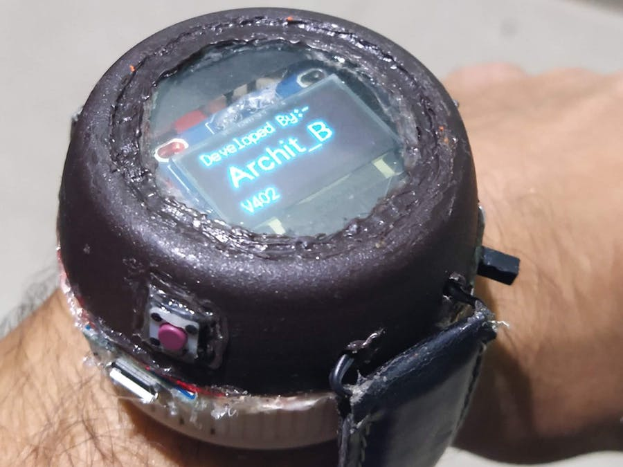 Bluetooth Smart Watch Arduino