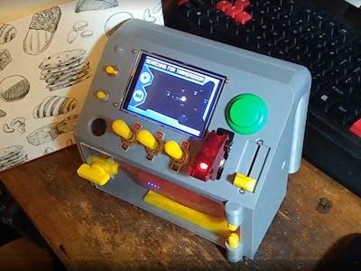 Toy Spaceship Dashboard