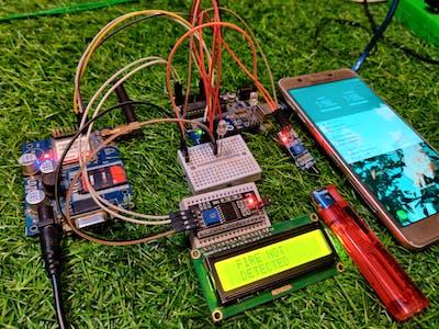 GSM Based Fire control system via sms