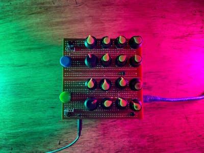 PhaseMod Drone Synth (w/ Arduino Nano & Mozzi)