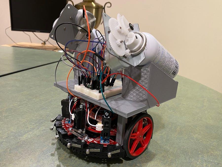 Autonomous Disinfecting Robot