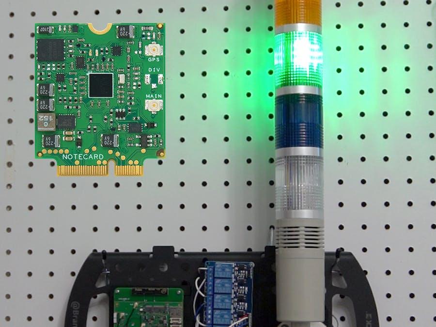 ESP32 & Cellular IoT CI Build Status Light