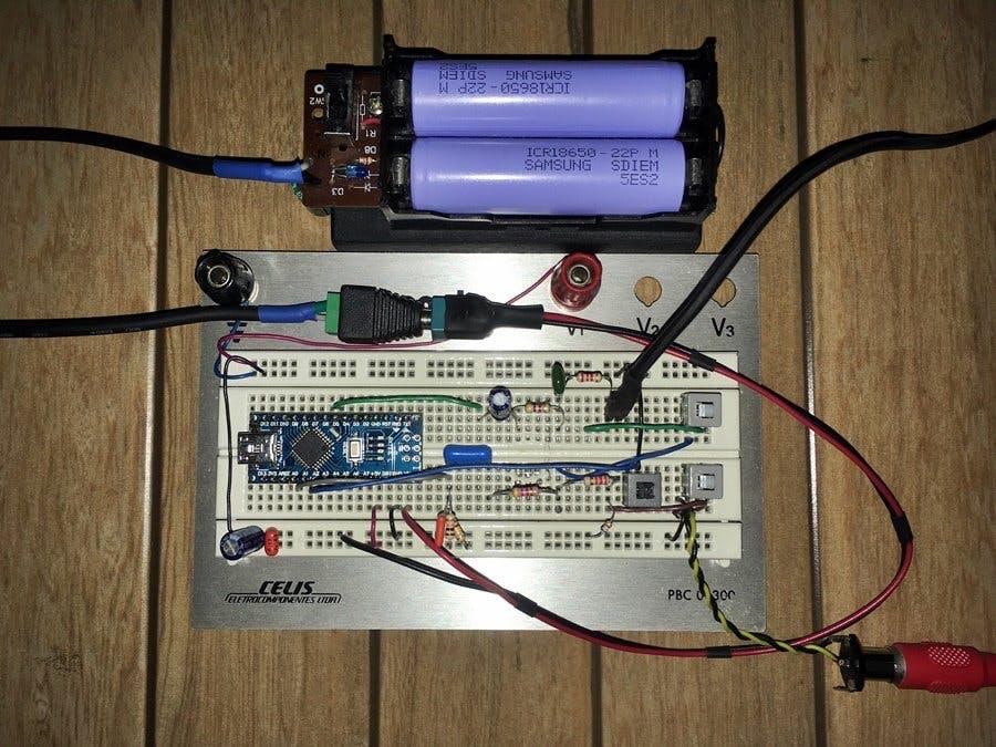 echoTrek - Digital Delay / Echo - Audio Effects with Arduino