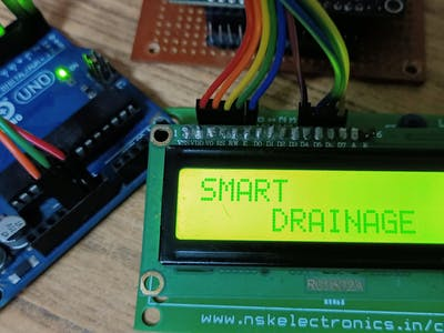 Smart Drainage Using IOT