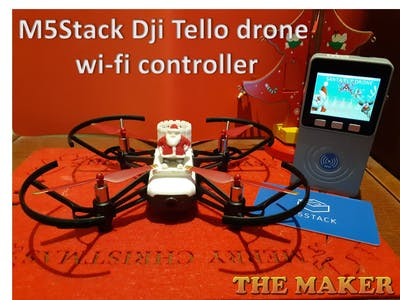 M5Stack Christmas Tello Drone for Santa