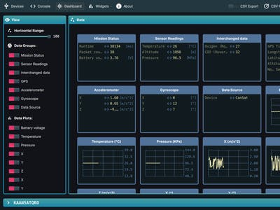 Serial Studio, a Dashboard Software for Serial Devices