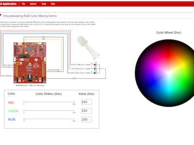 UART-Controlled RGB LED using MSP430FR2433 LaunchPad