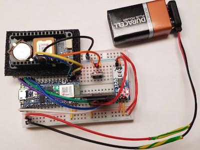GPS and AHRS Data Logger