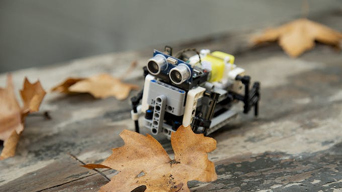 Fig. A – General view of the Quadruped robot