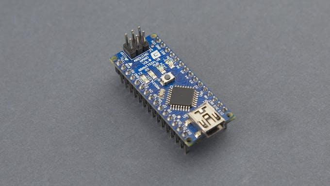 Fig. B - An Arduino Nano board