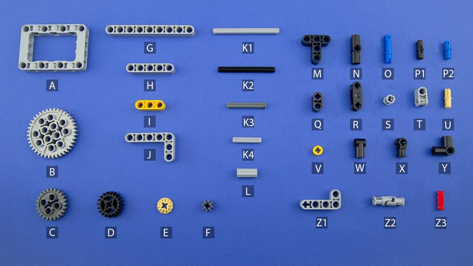 Fig. E - Lego-compatible components