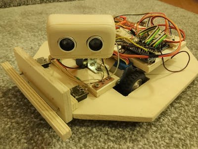 MyTurtle: self-learning robot (Part 3 - Head and Bumpers)
